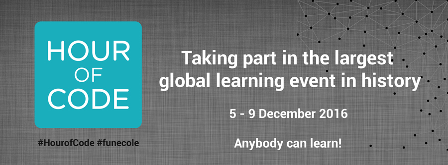 The Hour of Code™ : Taking part in the largest global learning event in history