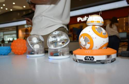 BB8 and SPRKs getting some rest!