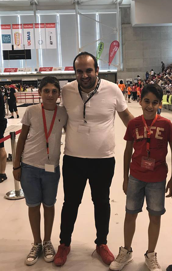 outstanding display of problem-solving skills at the  Cyprus Robotex Challenge 2018
