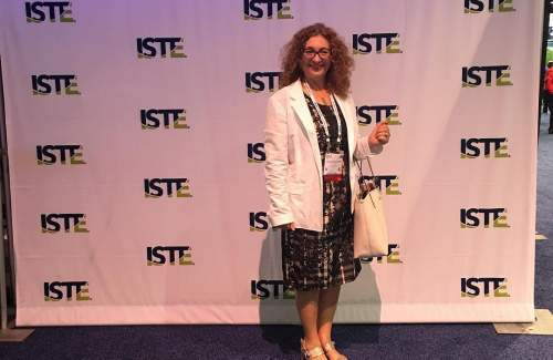 FUNecole® founder and CEO Mrs Chryso Christodoulou at ISTE 2018