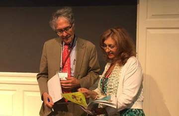 Mrs. Chryso Christodoulou is presenting FUNecole to Howard Gardner At Harvard at the Future of Learning at Project Zero!