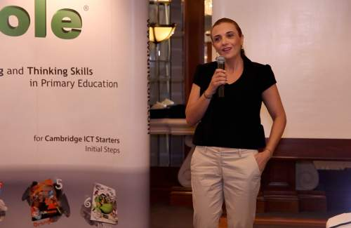 Technology and modern education at Hilton Nicosia with Mrs Tasoula Katsiami (U learn education center )