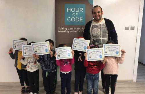 Early Years and K! Digipro Computer Consultants #HourOfCode
